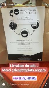 Livraison de repas à Angers